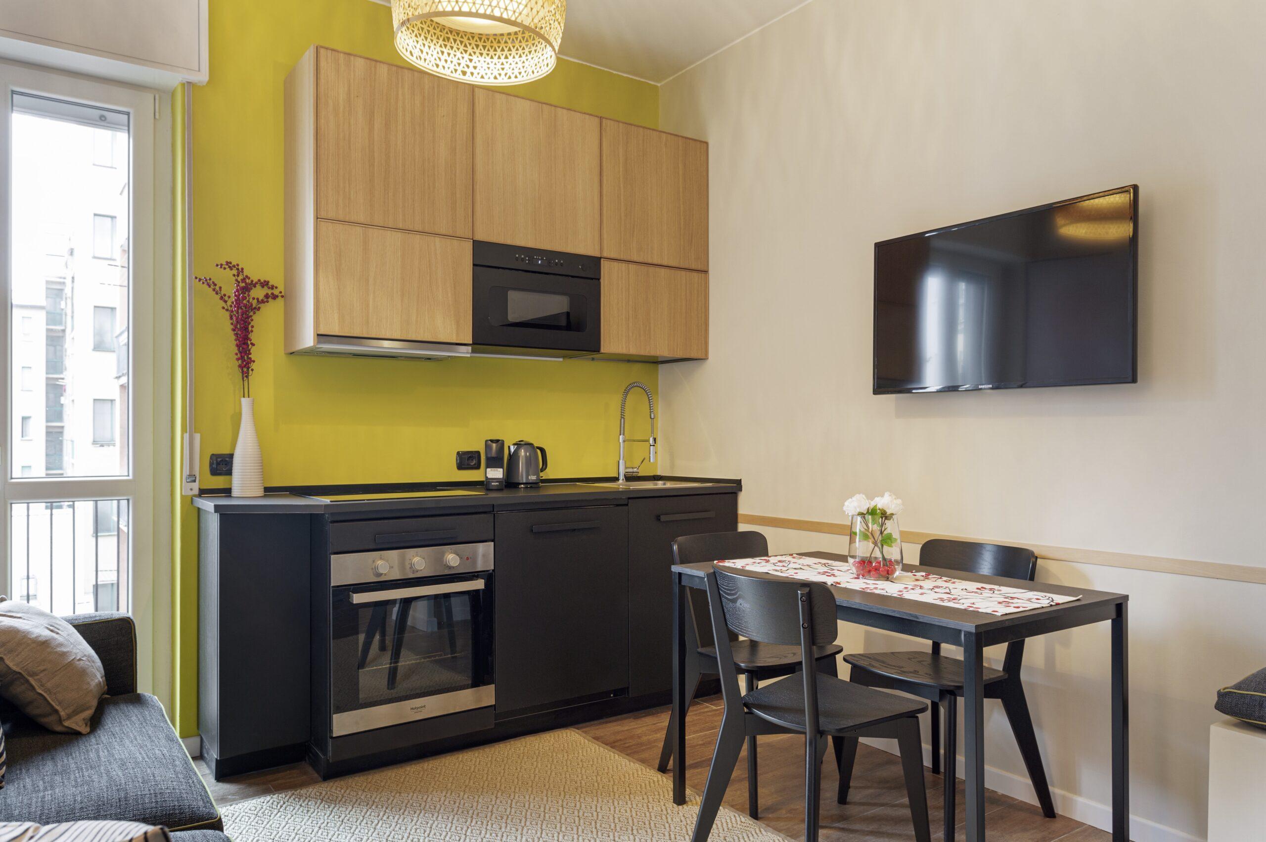Bilocale Urbanese soggiorno/cucina camera